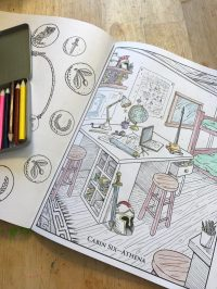 The Percy Jackson Coloring Book + Giveaway! | Chasing Supermom