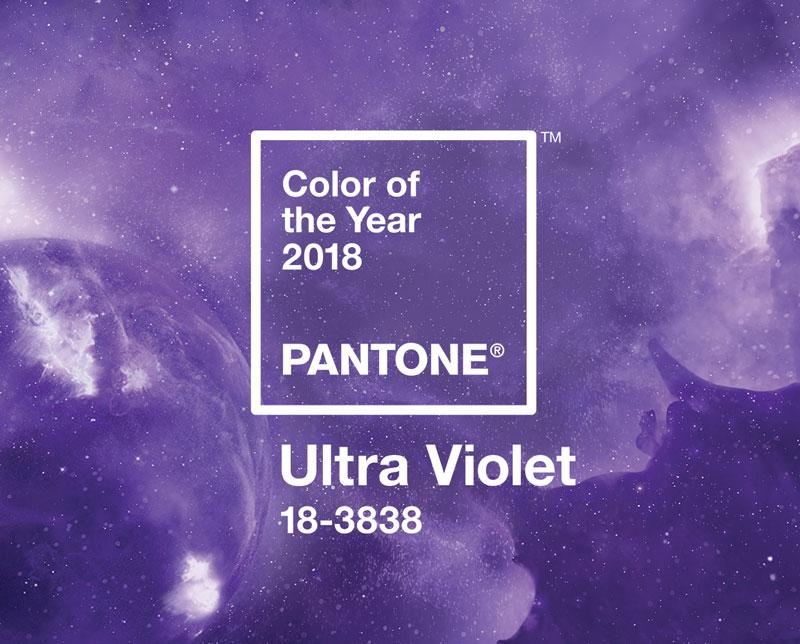 ultra violet colore pantone 2018