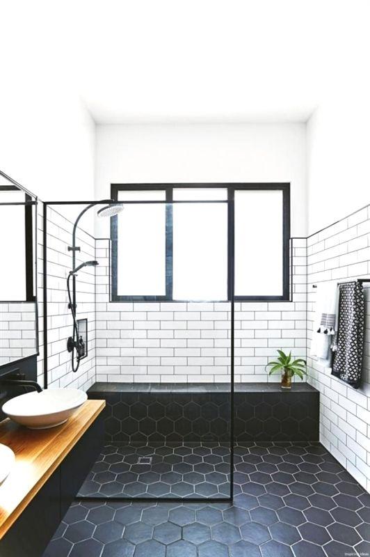 arredare bagno con nero