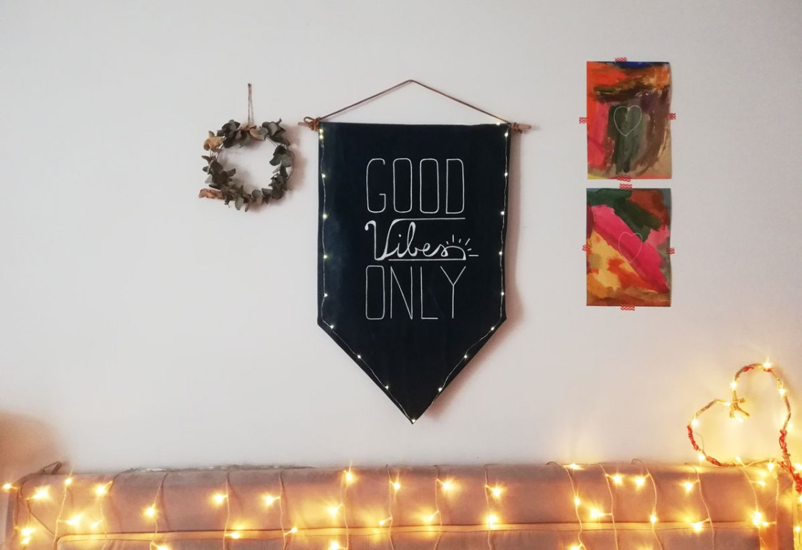 banner con frase motivazionale