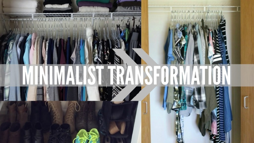 Minimalist Transformation: Before & After Decluttering (WITH VIDEOS!)