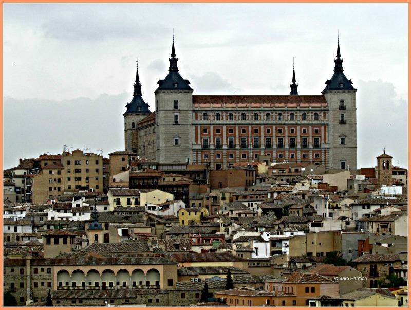 Alcazar of Toledo Spain