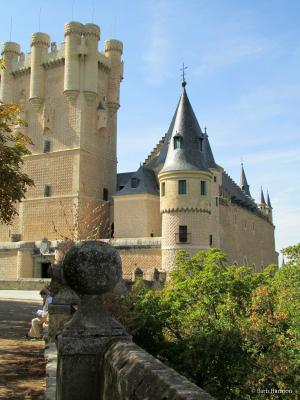 The Alcazar in Segovia, Spain