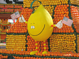 Celebrating citrus is Menton France