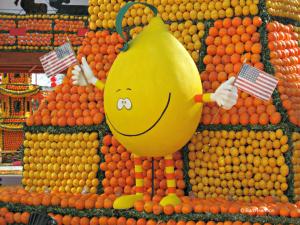 Celebrating citrus is Menton France