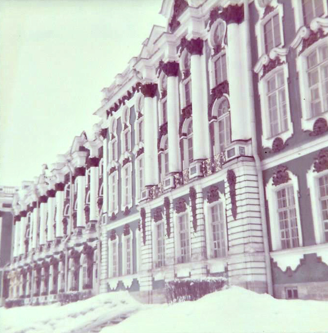 Ekaterininsky Palace in Pushkin