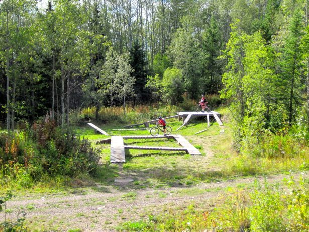 burns lake bike park