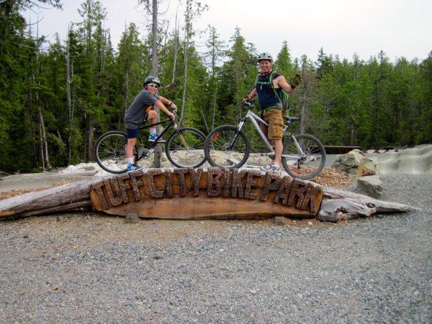 tim hunter tofino bike park