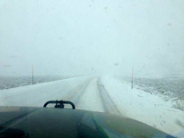 nevada snowy road #2