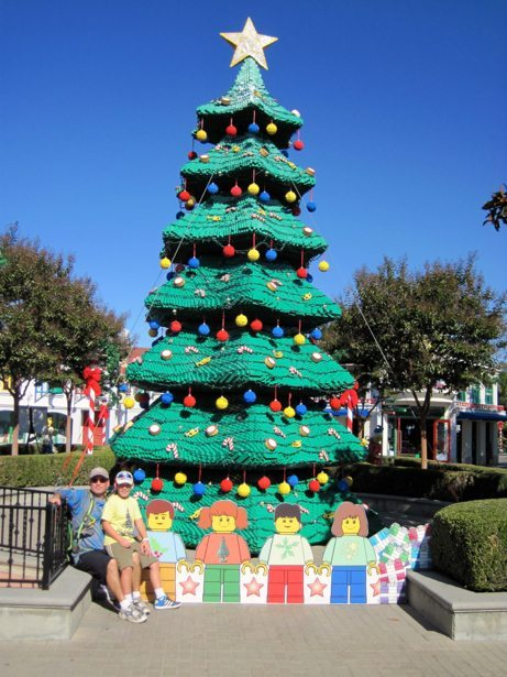 tim hunter legoland xmas tree