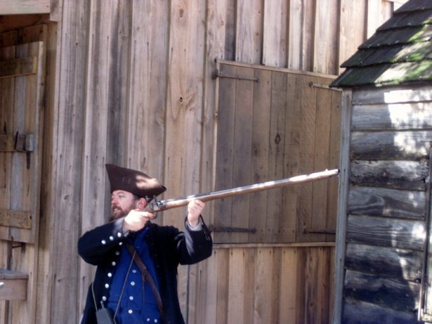 colonial quaters grimm musket 2