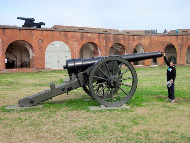 fort pulaski rifle cannon