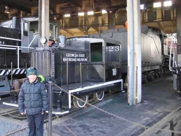 hunter locomotive