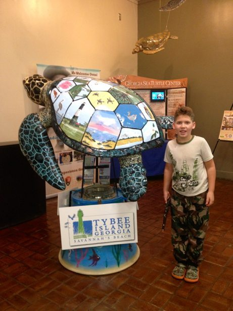hunter tybee turtle 2