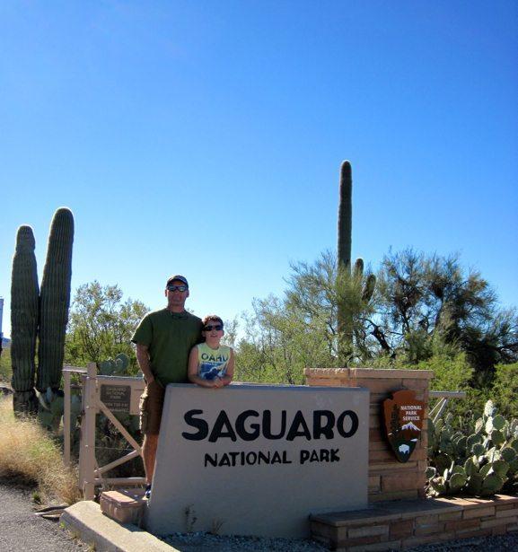 tim hunter saguara NP sign