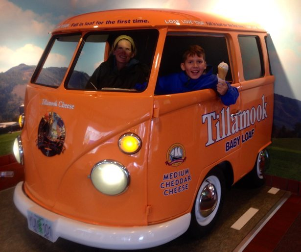 the Tillamook LOAFmobile