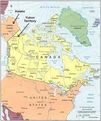 alaska yukon map