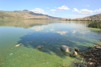 Aguas residuales contaminan la laguna ((Foto Chaski Klandestinx))