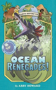 "The cover art for ""Ocean Renegades"" by Abby Howard"
