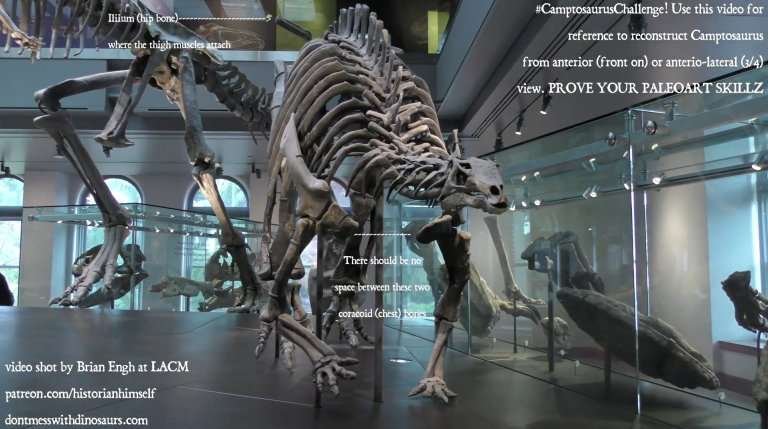 """Brian Engh's """"Camptosaurus Challenge"""" call to action"""