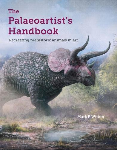 Cover art for Mark Witton's Palaeoartist's Handbook