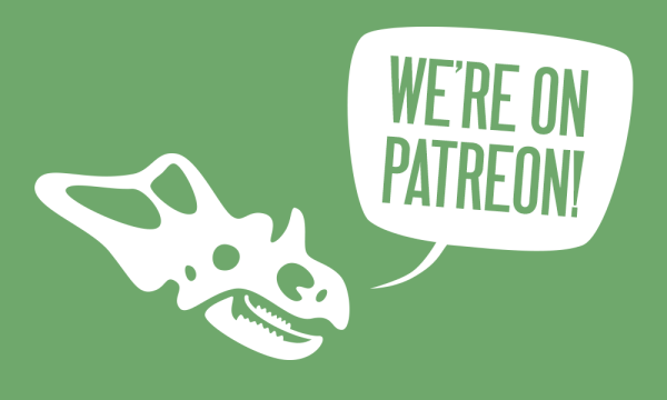 Love in the Time of Chasmosaurs is on Patreon!
