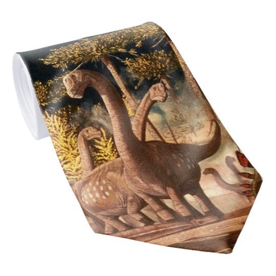 Gregory S. Paul's Camarasaurus tie