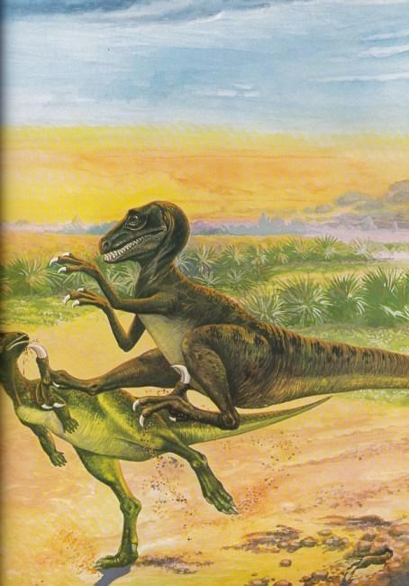 Deinonychus by Michael Youens