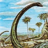 Vintage Dinosaur Art: The Day of the Dinosaur