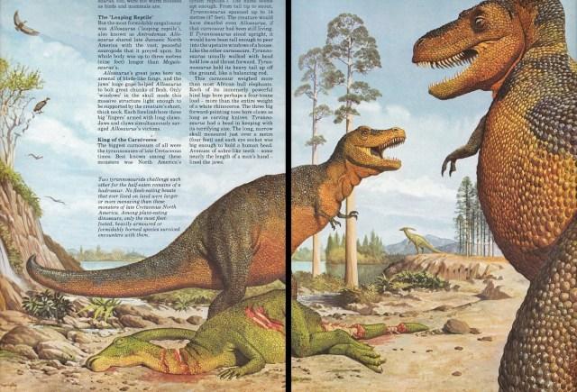 Tyrannosaurus by Bernard Robinson