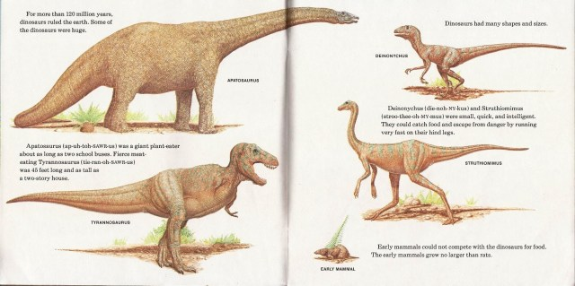 Various dinosaurs by Peter Zallinger