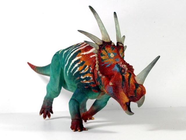 The Beasts of the Mesozoic Styracosaurus figure
