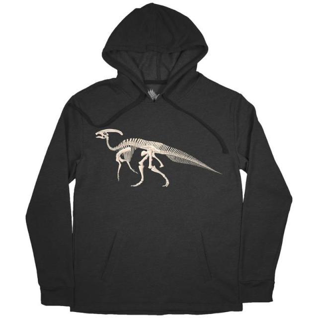 Parasaurolophus hoodie by Permia