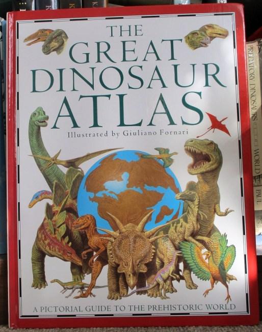 The Great Dinosaur Atlas cover