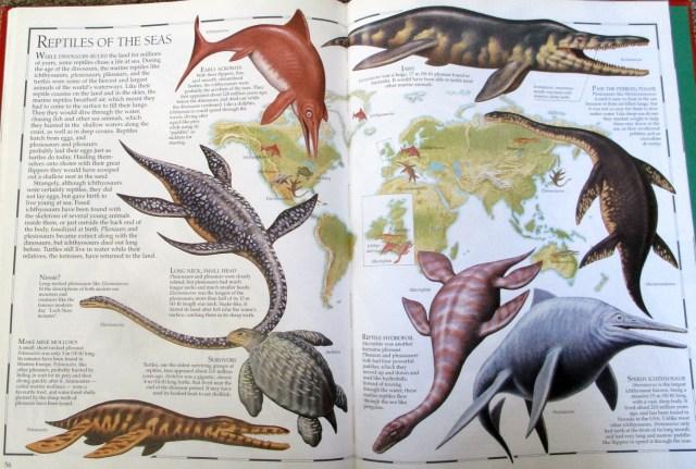 Great Dinosaur Atlas - marine reptiles