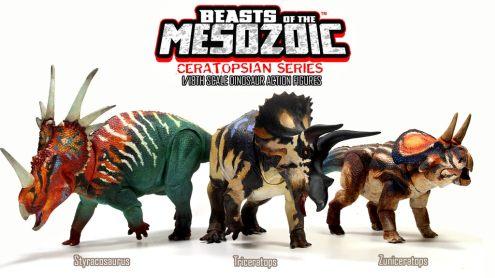 Cover photo for Beasts of the Mesozoic Ceratopsian Series Kickstarter.
