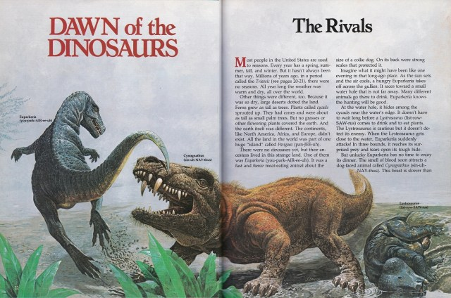 Dawn of the Dinosaurs - Ranger Rick's
