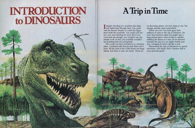 Ranger Rick's - introduction to dinosaurs