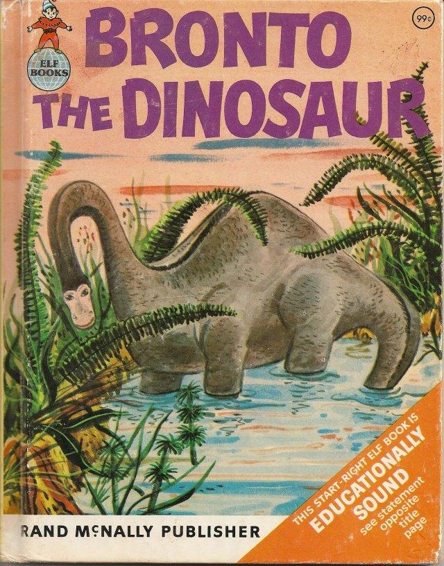 Bronto the Dinosaur book cover