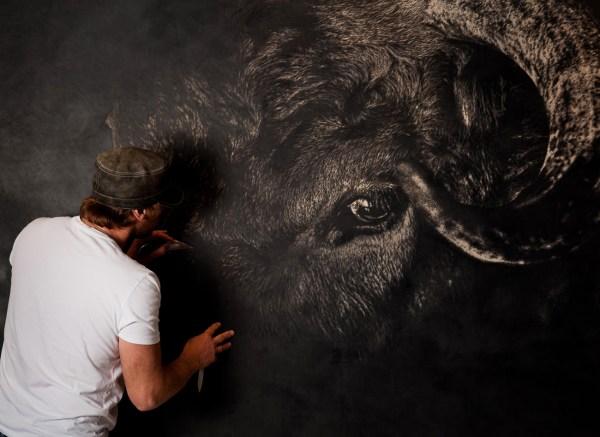 Chasseur Interviews Leather Artist Mark Evans