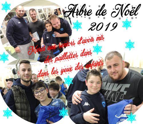 Noël de l'Ecole De Rugby 2019