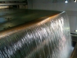Interior waterfall - Guinness Warehouse Dublin