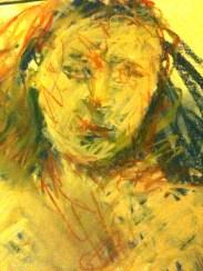 Female head detail #5