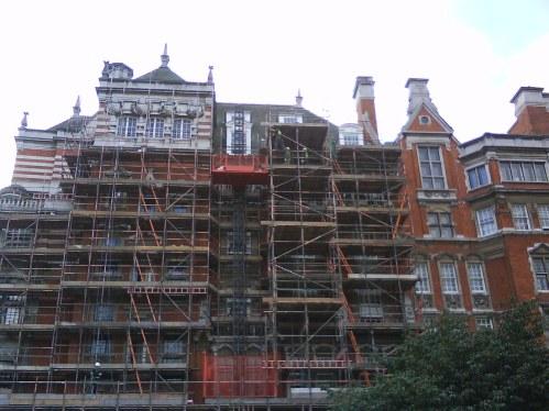 Houses overlooking Westminster