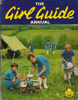 Girl Guides in their natural habitat