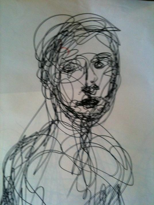 Female portrait - Roar Drawing 1