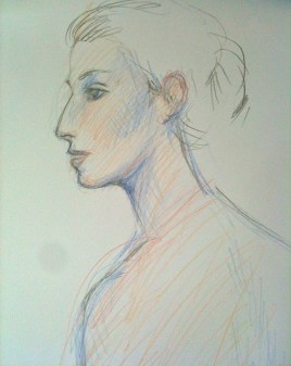 Female portrait - Roar Drawing 3