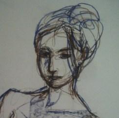Female portrait - Enderby 2