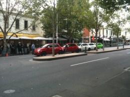 Fiat 500s line up