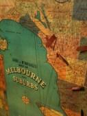 Melbourne Suburbs map